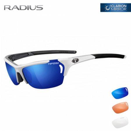 티포시 래디우스 화이트-건메탈(클라리온 블루+AC 레드+클리어(렌즈 3개)) 1050105822