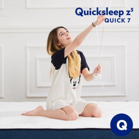 Q7 롤팩 하이브리드 유로탑 매트리스 퀸사이즈