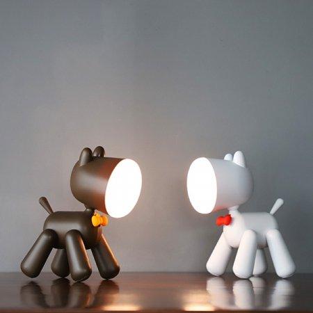 LED 살랑꼬리 강아지 무드등