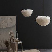 디아망 구스 인테리어조명 S사이즈:LED벌브 하얀빛