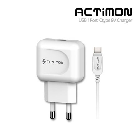 USB 9V 급속 가정용 충전기(C타입)