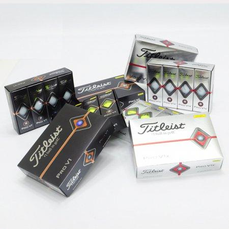 타이틀리스트/ (19)PRO V1, V1X 골프볼 (3PCS)