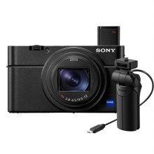 소니 사이버샷 RX100 Ⅵ 하이엔드 카메라[블랙][DSC-RX100M6]+그립[VCT-SGR1] 패키지