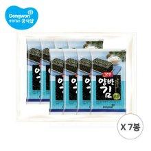 양반김4호 [도시락8P(8매)] x 7 (총 56봉)