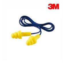 3M귀마개 Ultra Fit Corded 끈있는타입 청력보호구 100개 SET_354413