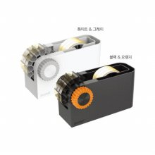3M 스카치 테이프 디스펜서 3in용(블랙n오렌지)