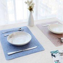 모던 주방 식탁 매트 1개(색상랜덤)