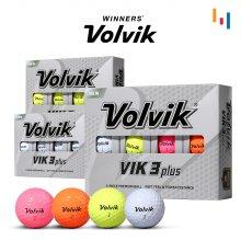 [정품] VIK3 빅3 프리미엄 골프공 3피스 12알