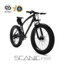 AU테크 스카닉 F100 36V 5Ah 전기 팻바이크 자전거