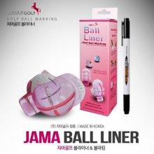 자마 골프볼라이너(Ball Liner) [볼라이너1개+유성펜1개]