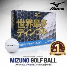 미즈노 JPX 골프볼[3피스/12알][화이트]