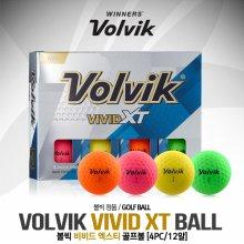 [볼빅] VIVID XT(비비드 엑스티) 무반사 코팅 골프볼 [4피스/12알]