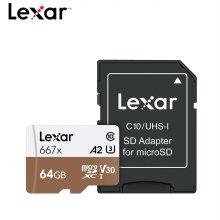 [렉사] Lexar MicroSDXC 667x 64GB