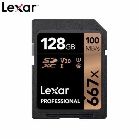 Lexar 영상 프리미엄 메모리 SDXC 667x 128GB
