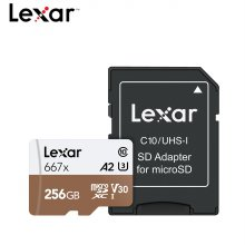 Lexar 영상 프리미엄 메모리 MicroSDXC 667x 256GB