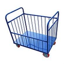 바스켓 카트 대차 수레 산업 물류 운반 철대차 기본형_3AFF2D