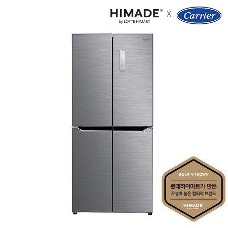 하이메이드 4도어 세미빌트인 냉장고[418L] + 하이메이드 55형 UHD TV(벽걸이형) 패키지