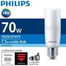 필립스 LED STICK 7.5W 6500k(주광색) E26 85W 대체