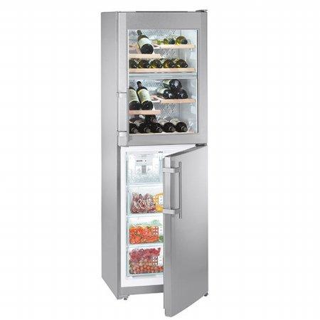 독일 프리미엄 리페르 플래그쉽 와인냉장고+냉동고 (와인캐비넷 128L / 냉동고 119L) / SWTNes 3010