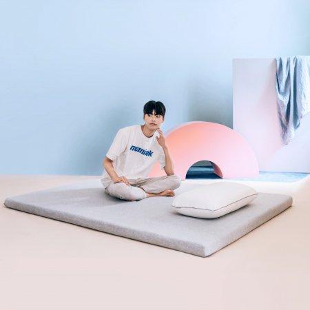 [진짜 단독특가]메모리폼 푹신토퍼 침대 바닥 접이식 매트리스 S