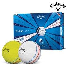 캘러웨이 ERC 소프트 골프공 12알 화이트 옐로우 골프용품 필드용품