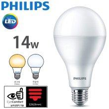 필립스 LED램프 14W 3000k 전구색 E26 해바라기 패턴 2019 NEW