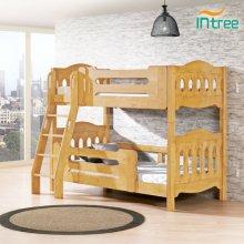 빅토리아 고급원목 이층침대 세트(독립스프링매트+깔판 각2개 포함)