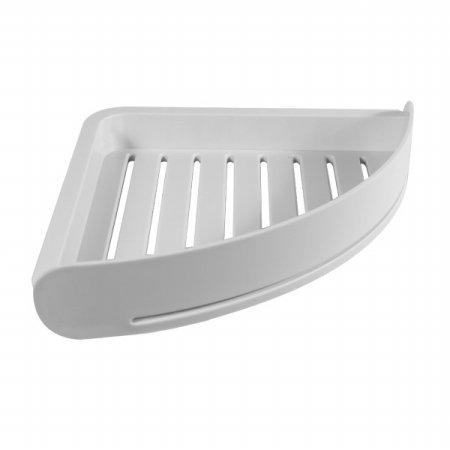 욕실 공간활용 무타공 후크형 모서리 코너선반 B10