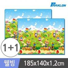 1+1 뽀로로음악대 웰빙 놀이방매트 185x140x1.2cm_3F5AE1