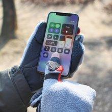 스키 보드 자전거 겨울운동 방한 스마트폰 터치장갑