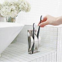 욕실 인테리어 공구없이 붙이는 위생 칫솔꽂이 Couple
