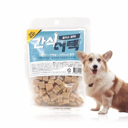 강아지간식 애견간식 간식어택 황태맛 100g*10개