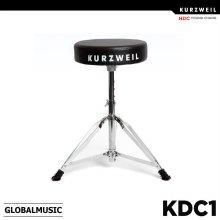 영창 커즈와일 드럼의자 KDC1 높낮이조절/드럼전용의자/KDC-1