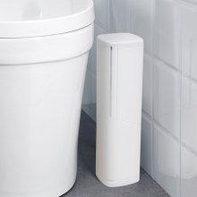 일본생산 욕실청소 브러쉬 휴지통 변기솔 일체형 세트