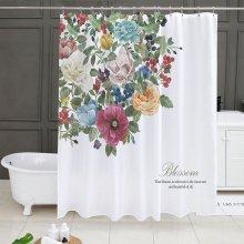 피오리타 욕실커튼 방수 샤워 가리개