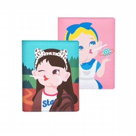 [BENTOY] 신분증 티켓 여행용 다기능 캐릭터 여권지갑