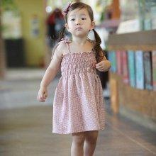 자체제작 숲속나무 인견 영유아동복 쭈리썬원피스_04089C