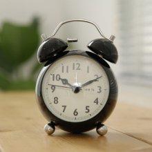 차밍벨 트윈 알람 탁상시계 시계 블랙