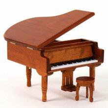 New 그랜드 피아노 오르골(원목) 오르골