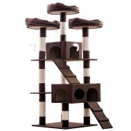 헬로망치 프리미엄 대형 고양이 직조 캣타워 HI8896