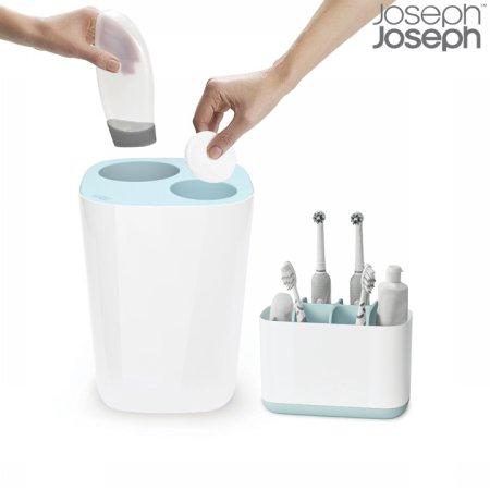[조셉조셉] 이지스토어 칫솔캐디(대)+스플리트 분리수거 휴지통