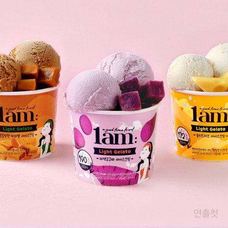 라이트 젤라또 아이스크림 350ml x 3개