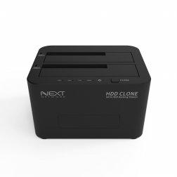 [무료배송쿠폰] USB3.0 2Bay Docking Station 1:1CLONE기능지원 NEXT-962DCU3