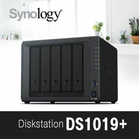 [에이블] DS1019+[케이스] 5bay NAS 하드미포함