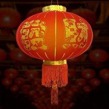 행운 대박복홍등 60cm 중국집 중국전통 인테리어 소품