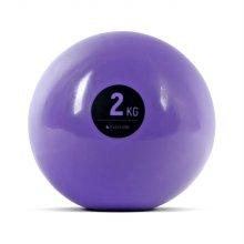 소프트 토닝볼 2kg 퍼플 필라테스 웨이트볼