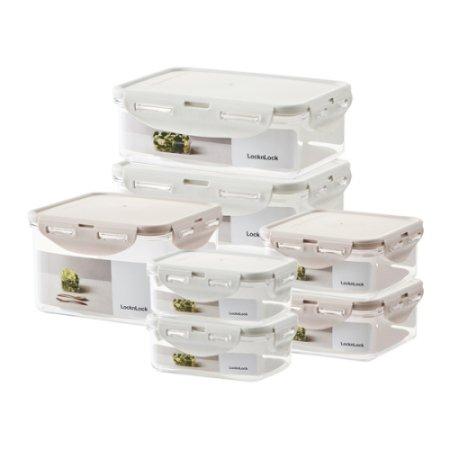 [선물박스]항균 비스프리 스테커블 냉장고정리세트 7P (LBF806S7N)
