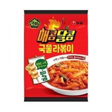 [농심] 매콤달콤 국물라볶이 390g (2인분)