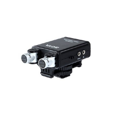 고품질 지향성 스테레오 마이크로폰 (DSLR 카메라) [BY-SM80]