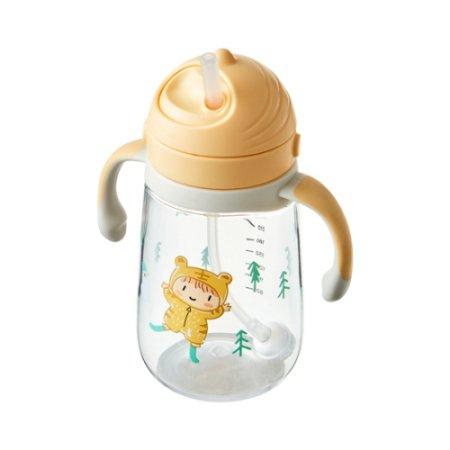 회전식 뚜껑 유아용 빨대물병 350ml (ABF683)